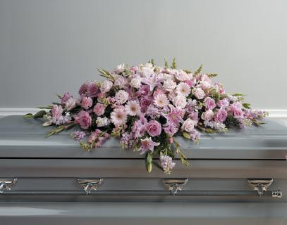 The Pink Casket Spray
