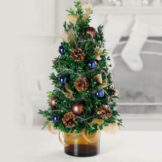 Tabletop Forest Tree Blue