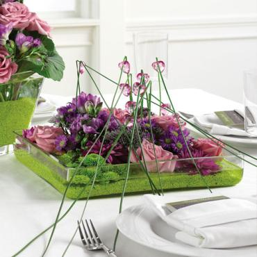 Shallow Reception Centerpiece