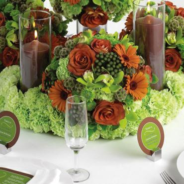 Reception Centerpiece Spheres