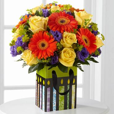 The Bright Birthday Gift Bouquet