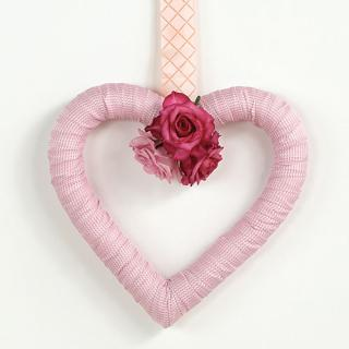 Fabric-Wrapped Heart