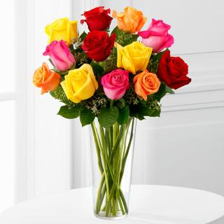 The Bright Sparkâ?¢ Rose Bouquet