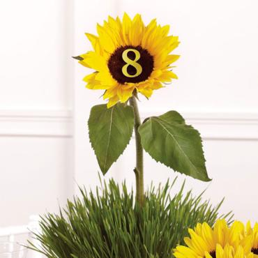 Sunflower Table Marker