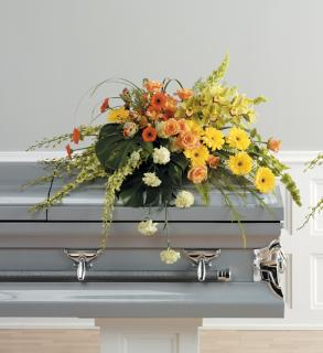 The Bright Casket Spray