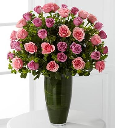 Serenade Luxury Rose Bouquet - 24-inch Premium Long-Stemmed Rose