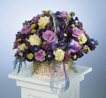 Mixed Basket Arrangement
